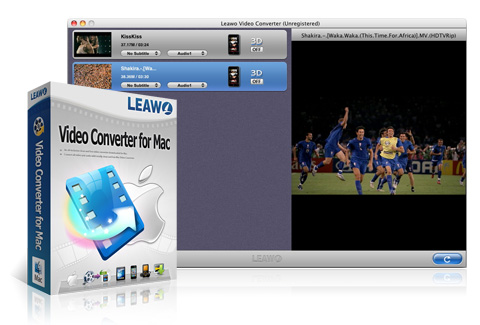 Leawo Video Converter til Mac
