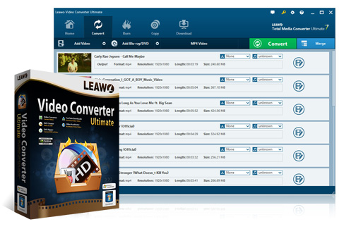 Leawo Video Converter Ultimate - Total sulution for Blu-ray