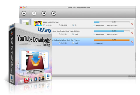 Leawo YouTube Downloader til Mac