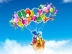 Libero Compleanno PowerPoint Templates 1