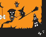 Livre Halloween PowerPoint Templates 6