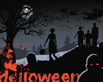 Livre Halloween PowerPoint Templates 7