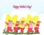 Free Mothers' Day PowerPoint Templates 4