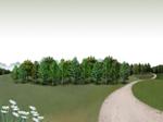 Paysage gratuit Modèle PowerPoint: Forêts