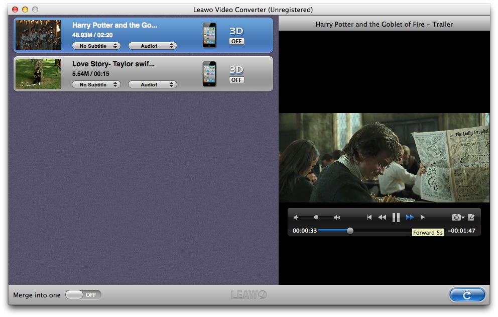 Leawo Video Converter for Mac Getting Started   Leawo Support Center