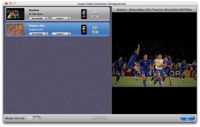 La façon de convertir des MKV vidéos à ipad avec Leawo Video Converter Video_converter_mac_2