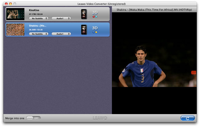 Leawo Video Converter for Mac
