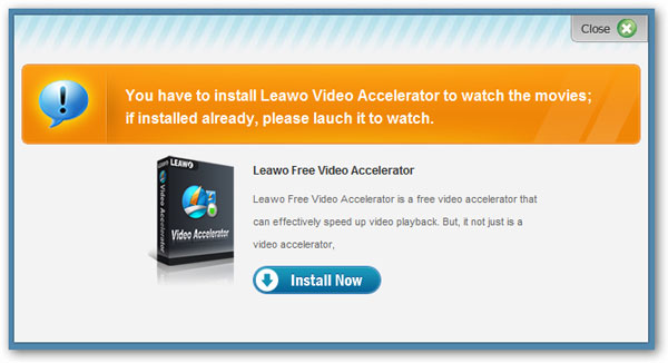 Leawo video accelerator