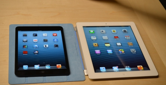 iPad mini and iPad 4