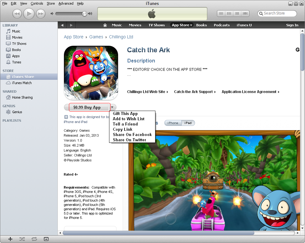 app store download for ipad mini