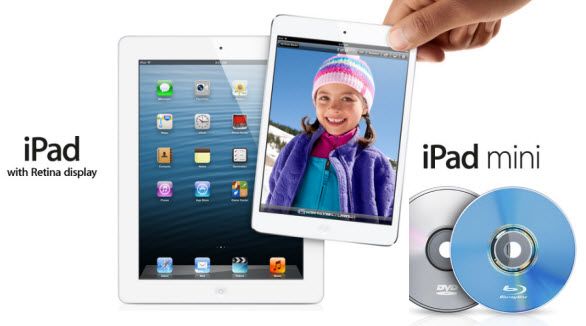 DVD and iPad 4