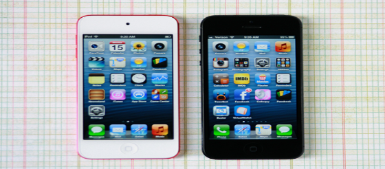 iPhone 5 and iPod touch 5