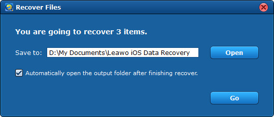 iPhone data recovery - recover