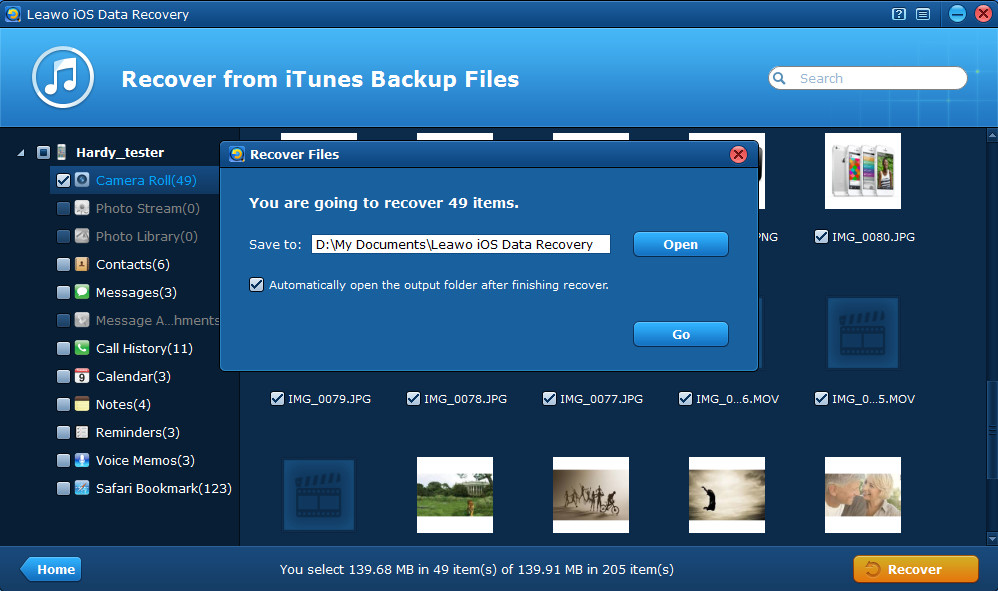 How to Extract Videos from iPhone Backup