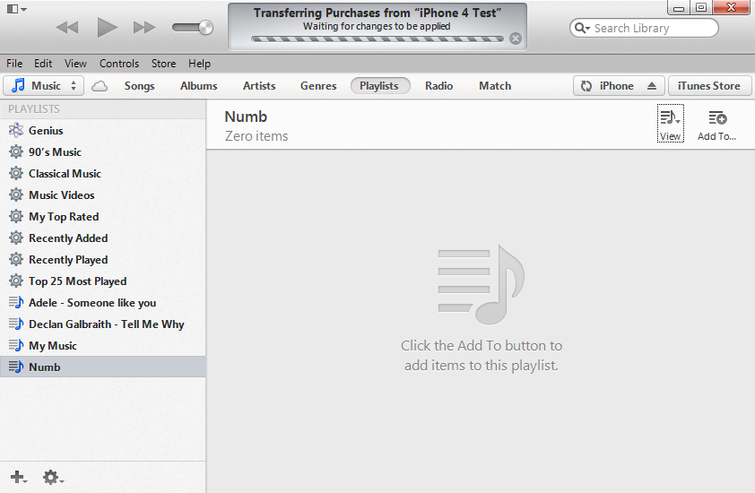 iTunes Will Automatically Transfer