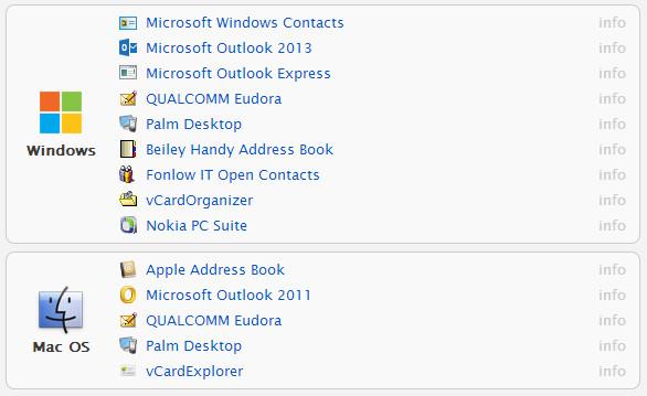 Programs that open VCF file