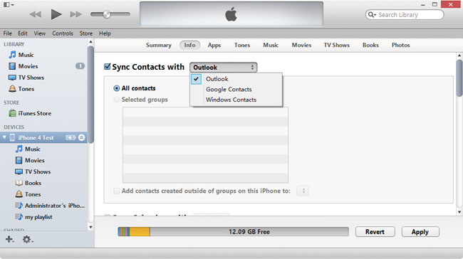 Synchroniser Calendrier Outlook Iphone Sans Itunes.5 Methodes Libres D Importer Csv Vcf Contacts Pour Iphone