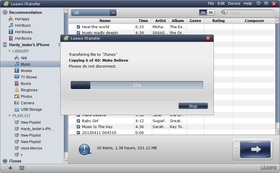 Finish Syncing