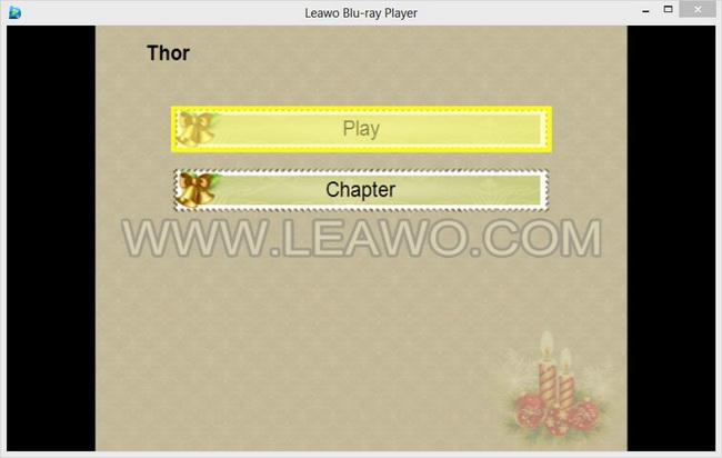 Blu-ray opzioni Player