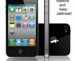 Cómo restaurar iPhone Después Jailbreak