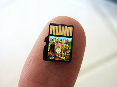 SanDisk Slot Music Micro SD card