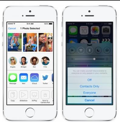 ensure both Mac and iPhone use AirDrop
