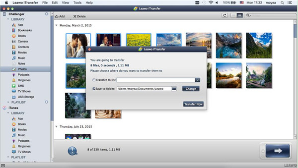 Choose Files to Airdrop from iPhone to Mac