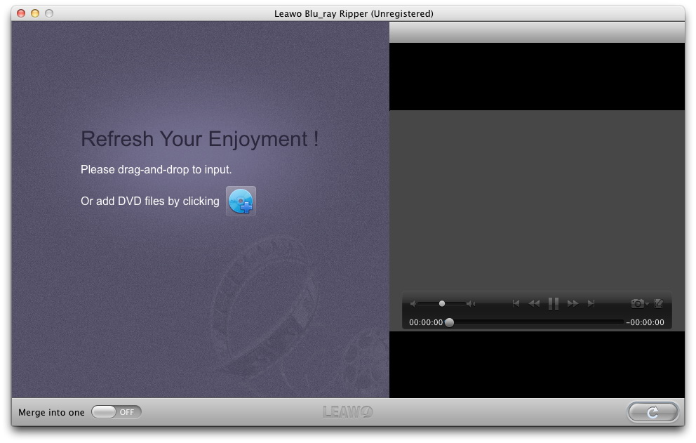 Leawo Blu-ray Ripper for Mac screenshot