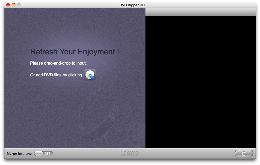 Leawo DVD Ripper HD for Mac - Convert DVD to Various Video Formats