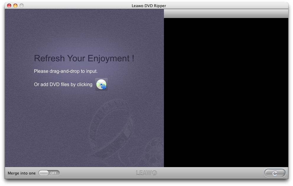 video format for dvd player mac