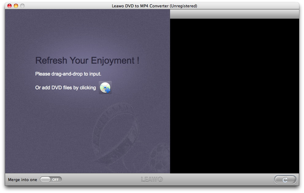 Leawo Mac DVD to MP4 Converter