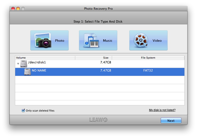 Recover data from Mac hard drive and devices