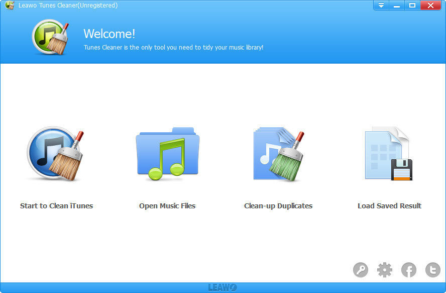 Click to view Leawo Tunes Cleaner screenshots