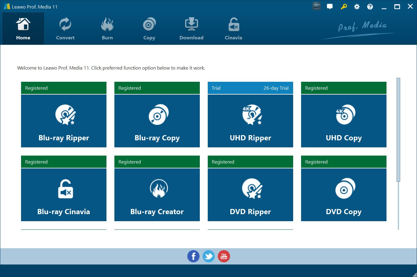 Click to view Leawo Video Converter Ultimate 6.2.0.0 screenshot