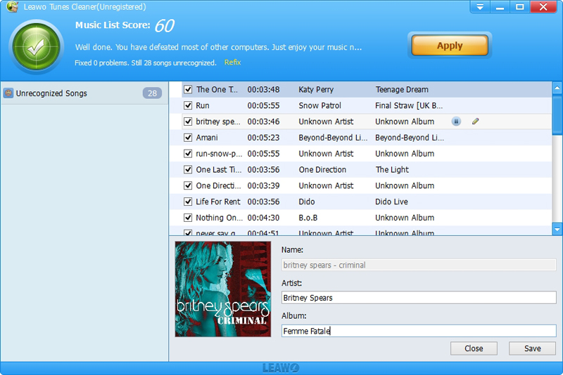 Leawo Tunes Cleaner – iTunes 清理软件丨反斗限免